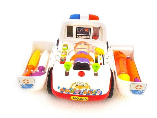 Department of music 836 almighty ambulance music educational toys medical toy gift
