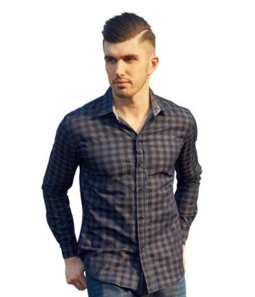 Shirts Casual Shirts Conscientious Brand New Male Plaid Casual Long Sleeved Shirts Europe Size M/3xl Mens Turn Down Collar Leisure Tops Clothes Plaid Shirt K821 Clear And Distinctive