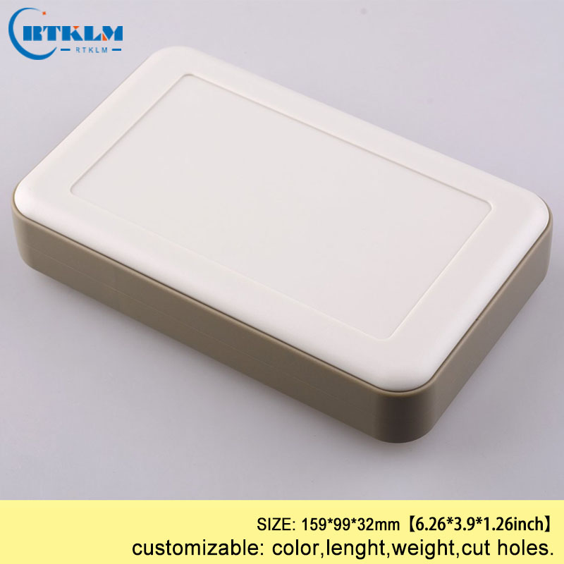 Free shipping 5pcs handheld plastic box for electronic project diy junction box abs plastic enclosure Desktop shell 159*99*32mm