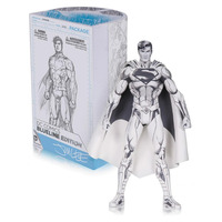 New DC Comic Blueline Classic Super Hero Superman Action Figure Limited Edition Jim Lee Sketch