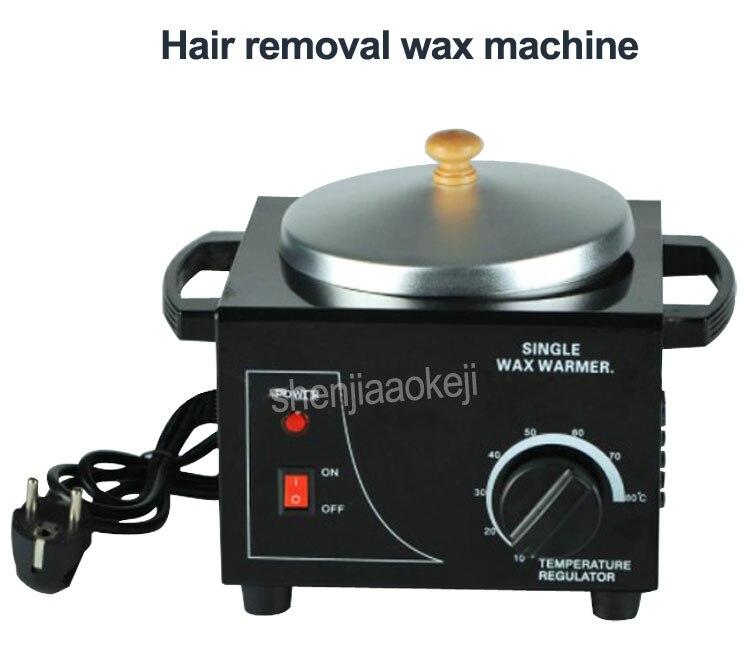 Депиляции воск машина один печи многофункциональный контроль температуры волос удаление воском машина руки воск машины терапии 220В