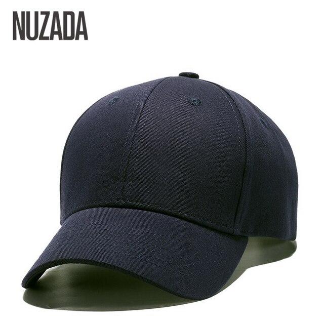 Gorra de béisbol de Color sólido clásica de marca NUZADA para hombres y  mujeres bd2e5596e30