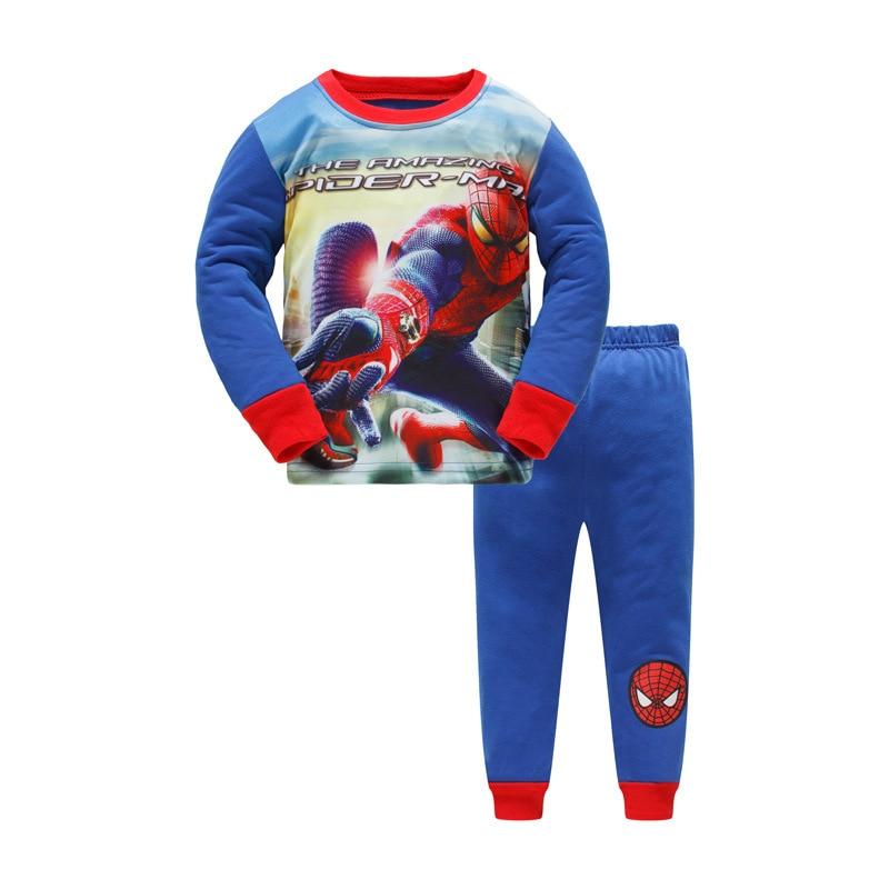 Nightwear Kids Fashion   Pajamas     Set   Autumn Baby Shark Clothes Pijamas Children Cotton Pyjamas Long Sleeves Boys Clothing Night