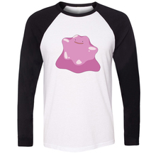 Pokedex 132 Normal Type Ditto Long Sleeve Men T Shirt