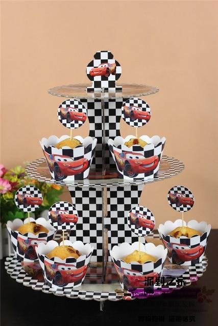 Aliexpresscom Buy New Car Style Cake Decoration Cupcake Stand