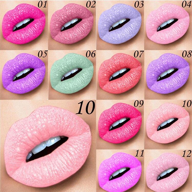 Жидкая матовая губная помада, хамелеоновый Золотой металлический матовый блеск для губ, долговечный водонепроницаемый жемчужный цвет, тинт для губ|Блеск для губ| | АлиЭкспресс