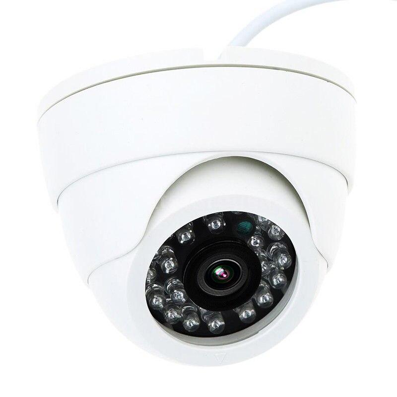 Frete grátis HD 1 / 4cmos 800 / 1200TVL Câmera Dome Interna 24 leds - Segurança e proteção - Foto 2