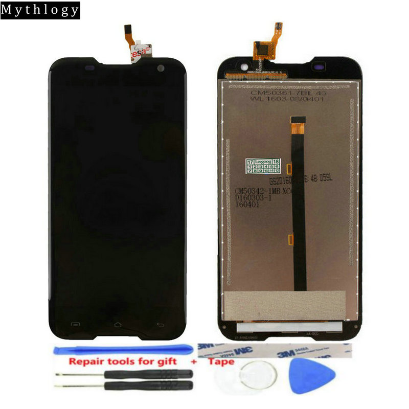 For Blackview BV5000 Touch Screen Display Replacment Digitizer Mobile phone Panels LCDs with Repair Tools Mythology(China)