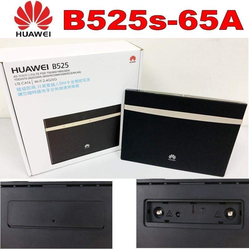 (+2pcs antenna)Huawei B525s-65a 4G LTE Cat6 Wireless Router