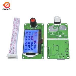 Image 1 - ЖК цифровой импульсный датчик точечной сварки, модуль контроллера 100A 40A для литиевой батареи 18650/аккумуляторной точечной сварки