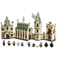 Hogwarts Castle Harry Hermione Grange Building Blocks Kit Bricks Classic City Movie Model Kids Toys Potter Compatible Legoings
