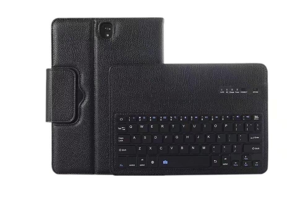купить For Samsung Galaxy Tab S3 9.7 T820 T825 case Removable Wireless Bluetooth Keyboard Case cover for samsung galaxy tab S3 9.7 inch по цене 1828.03 рублей