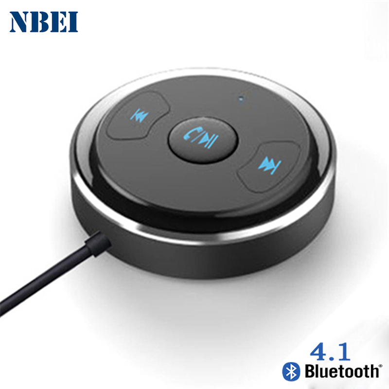 NBEI Wireless Bluetooth Receiver V4.1 Car Handfree 3.5mm Jack Auto AUX Audio Adapter With Mic For Speaker Blutooth Stereo Music