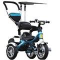 2017 crianças Triciclo Carrinho De Bebê 3 rodas carrinho de Bebê Carrinho De Criança Carrinho de Três Rodas carrinho de Bebê Carrinho de Bicicleta Para 6 Meses a 6 Anos velho