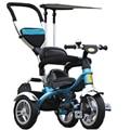 2017 niños Cochecito 3 ruedas Del Cochecito de Bebé Niño Triciclo de Tres Ruedas carro de Bebé Cochecito Bicicleta Para 6 Meses a 6 Años de edad