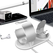 Mobile Support desk charger for iphone charge 3 in 1 phone holder apple watch stand charging dock station airpods