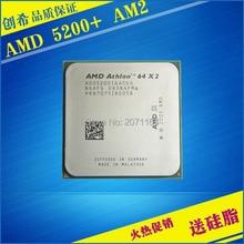 Бесплатная доставка AMD Athlon 64X2 5200 + dual-core AM2 5200 + Athlon двухъядерный 2.7 Г ПРОЦЕССОР Для Настольных ПК
