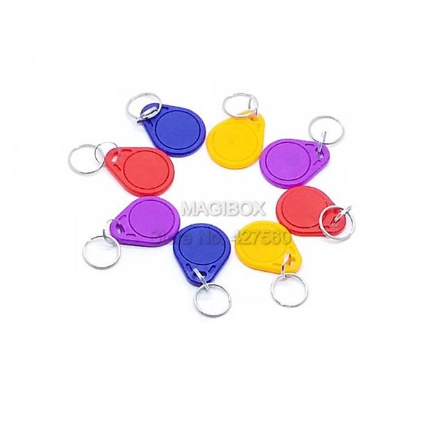 2pcs/lot  NTAG216 NFC tag NTAG216 electronic tags NFC keychain card