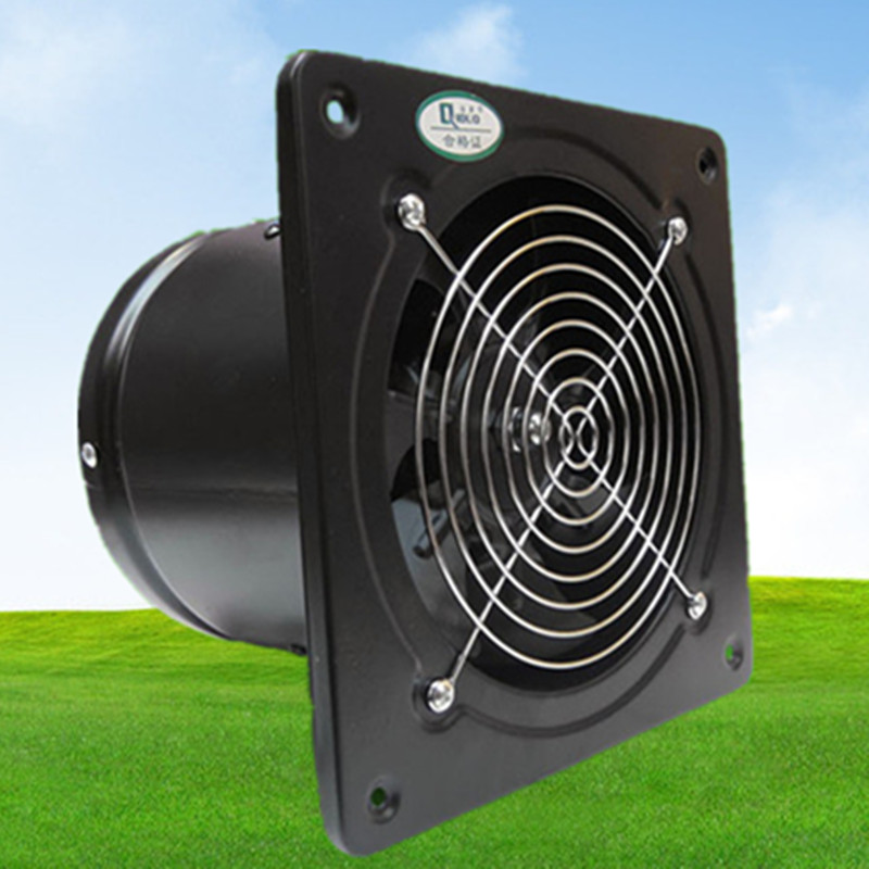 Smoke Extractor Fans : Quot squre panel exhaust fan air exchange smoke remover