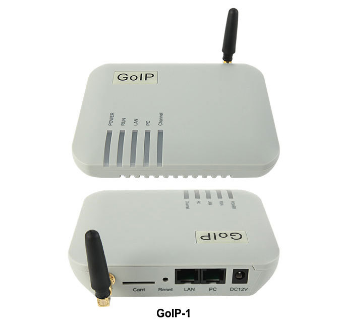 GoIP VOIP Gateway GSM Converter SIP IP Phone Adapter GOIP-1 1GSM gateway 1SIM goip voip gateway gsm converter sip ip phone adapter goip 1 leds for power ready status wan pc gsm