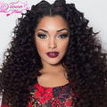 Alimoda Hair With Closure Grade 7a Unprocessed Virgin Hair With Closure 4 Bundles Deep Wave Brazilian Weave With Closure