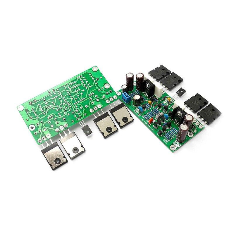 Image 3 - Lusya L20 SE Audio Amplifier Board  A1943 C5200 Streo Dual  Channels 350W Amplifier Amp Board 4ohm DIY kits 2pcsAmplifier   -