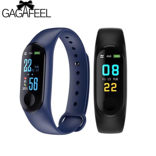 GAGAFEEL M3 Smart Watch Fitness Tracker Smart Bracelet For Women Men Heart Rate