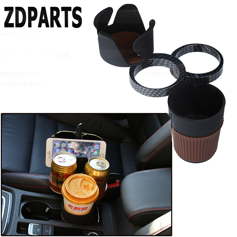 ZDPARTS Car Coin Drink Pen Glasses Phone Storage Cup Holder For Mercedes Benz W203 W204 W211 AMG Smart Alfa Romeo 159 Mazda 3 6 очки мерседес