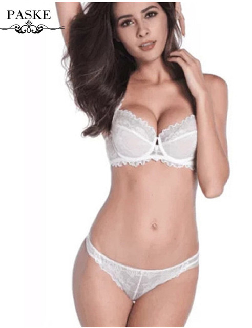 e842c38fbd Sexy lace women bra set push up bras set lingerie set 3 4 cup bra ...