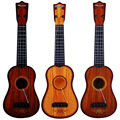 2017 Direct Selling Hot Sale Children String Guitar Music Toy Play Musical Toys Eduactional Instrument Baby Small Random Color