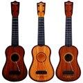 2017 venta directa venta caliente niños string guitar music toy play toys eduactional juguete del bebé del instrumento musical pequeño color al azar