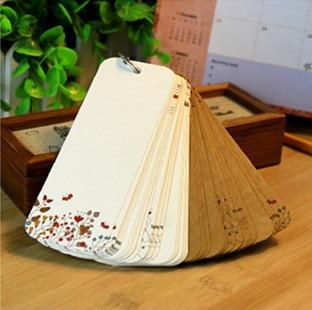 creative loose leaf notepad bookmark utility cute word cards
