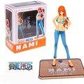 Alta Qualidade One Piece Nami PVC action Figure Brinquedos 15 cm Sexy girls PVC Boneca Figura toy Modelo para presentes F0482