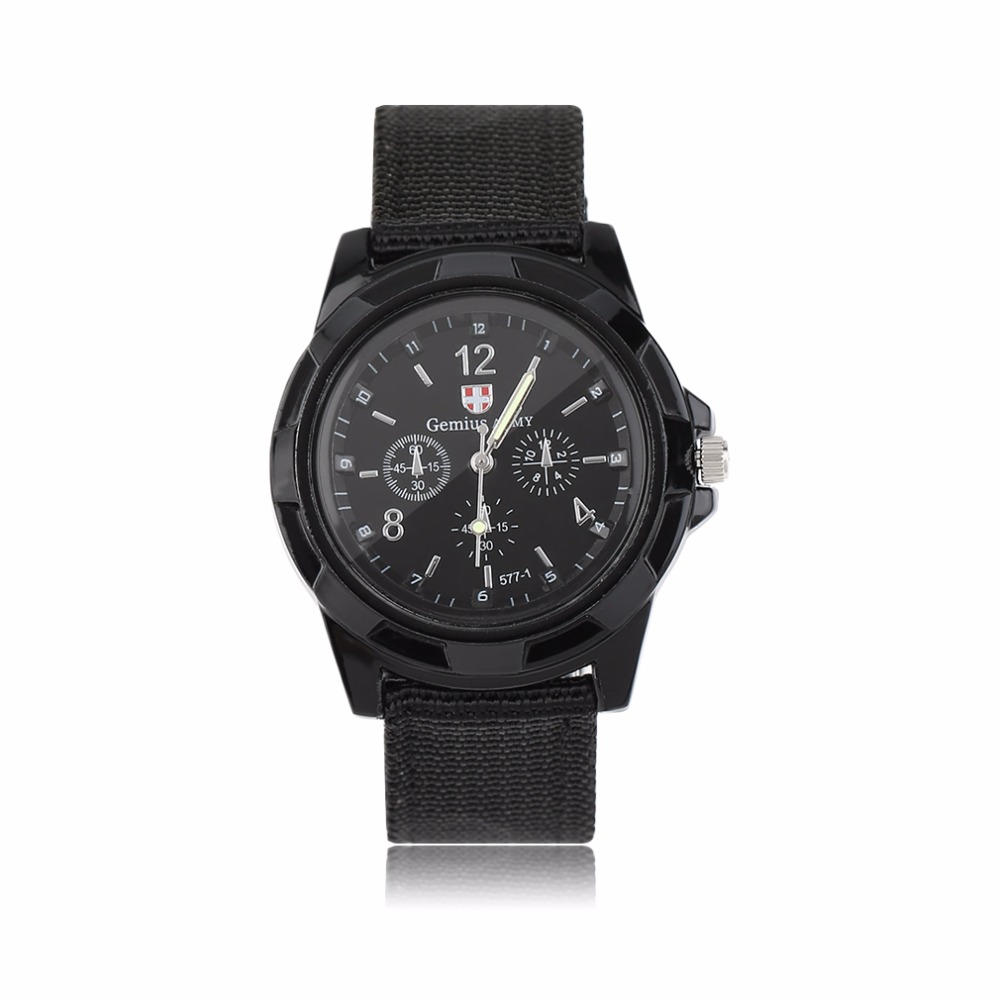 2019 Men' Watch Megir Fashion Leather Sports Quartz Watch For Man Military Chronograph Wrist Watches Men Army Style Black