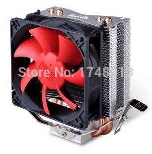 Livraison gratuite 2 heatpipe, tour côté-soufflé, pour Intel 775/1155/1156, pour AMD754/939/AM2 +/AM3/FM1/FM2, CPU refroidisseur, PcCooler S80