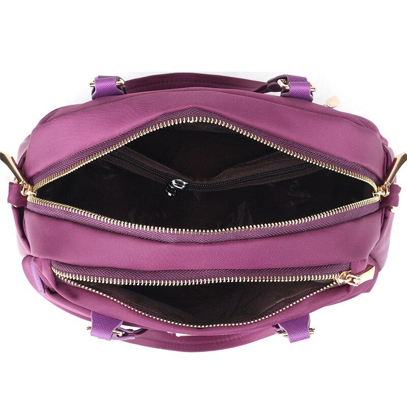 KVKY Women Boston bag Waterproof Nylon Handbags Ladies Messenger Bags  Casual Women Crossbody Bag Travel Shoulder Bag Tote bolsas-in Shoulder Bags  from ... ca7a12b444c2d