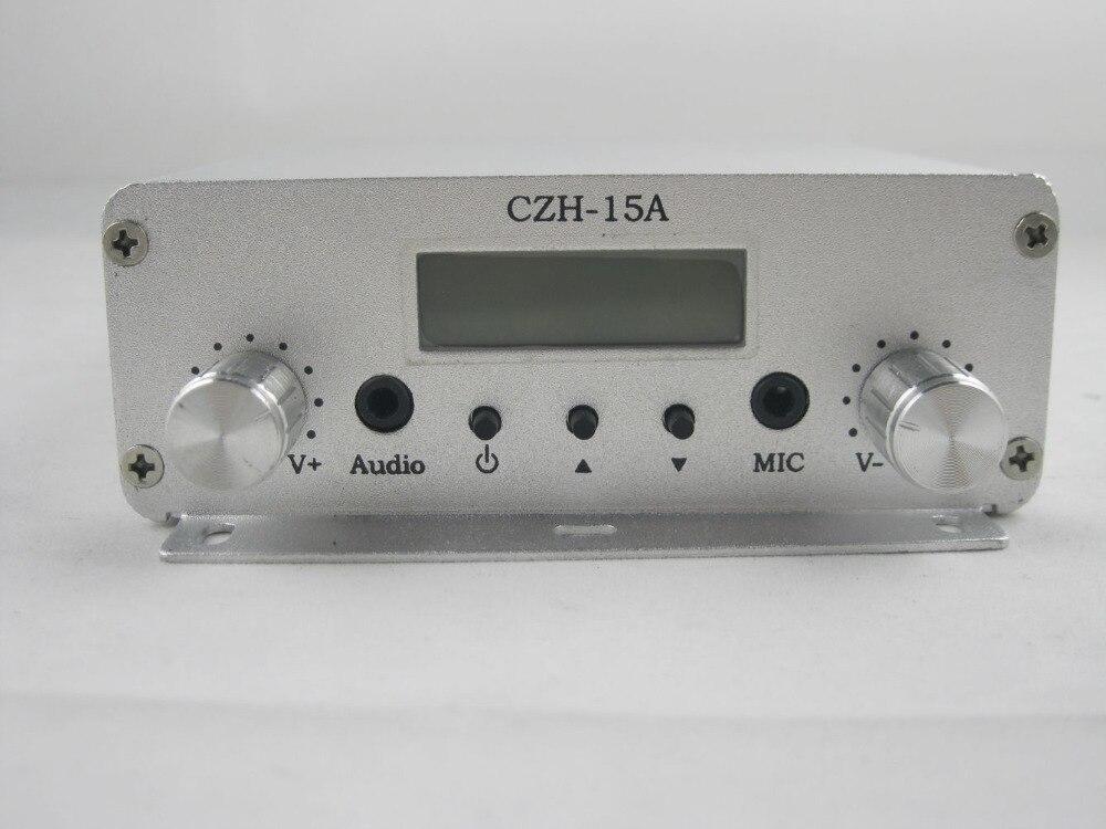 10 шт. 15 Вт FM стерео PLL передатчик радиостанции