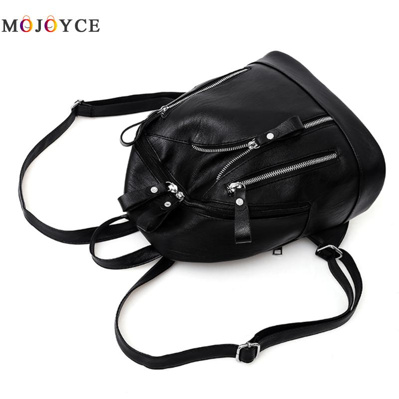 Women Backpacks Hot Sale Fashion Causal Bags High Quality Bead Female Shoulder Bag Pu Leather Backpacks For Girls #3