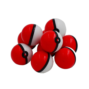 Image 2 - 20 pc 6 ml Pokeballs להתרכז מיכל כדור או ללא סטיק סיליקון שעוות שמן Pokeball Dab & בוטאן צנצנות קרם שמן או שמן חלקלק צנצנת