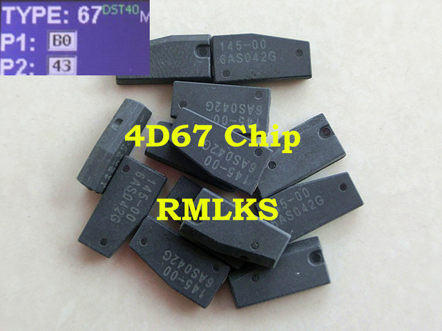 RMLKS  High Quality 4D67 Chip Auto Car Transponder ID:4D(67) Chip Fit For Toyota Camry Corolla Transponder Chip