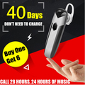 Hot sale Wireless Bluetooth Earphone 4.1 High Capacity Battery Bluetooth Headset Hands-free Earbud in Car for mobile phone