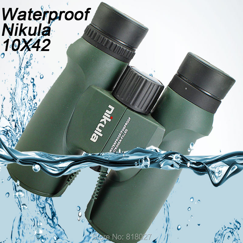 Binoculars Nikula 10X42 lll night vision binocular telescope Waterproof Nitrogen Filled Central Zoom Portable Bak4 high quality