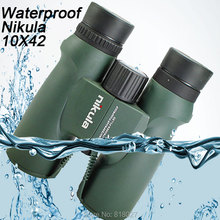Discount! Binoculars Nikula 10X42 lll night vision binocular telescope Waterproof Nitrogen-Filled Central Zoom Portable Bak4 high quality