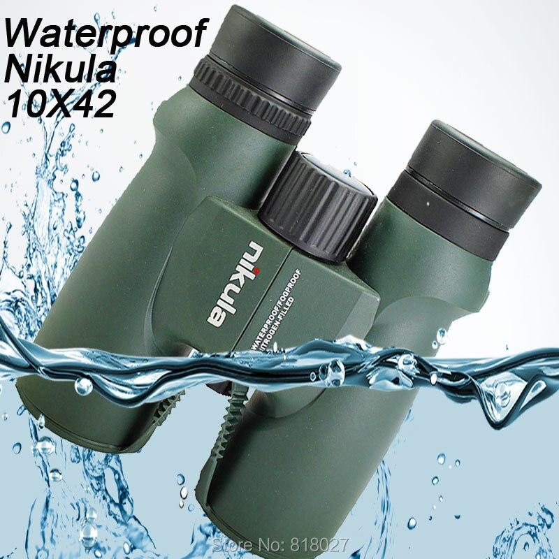 Binoculars Nikula 10X42 lll night vision binocular telescope Waterproof Nitrogen-Filled Central Zoom Portable Bak4 high quality