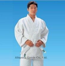 Top Quality Jiu Jitsu100% Cotton Judo Gi Bjj Gi International Standard Martial Arts Uniform Present a Belt Free Shipping