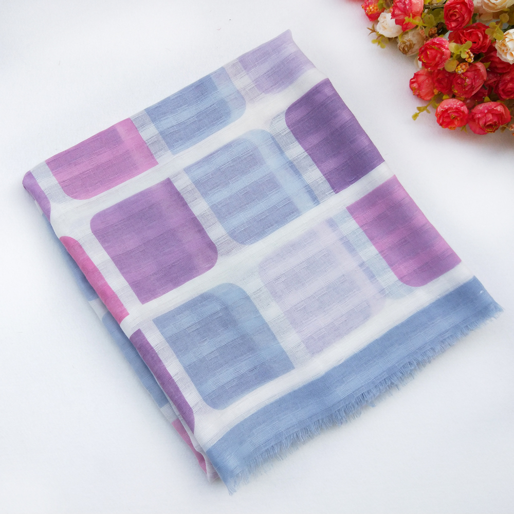 1PC Cotton Women Long Scarf Soft 2019 Spring New Thin Summer Lady 39 s Viscose Shawls Female Autumn Wraps Muslim Scarves in Women 39 s Scarves from Apparel Accessories