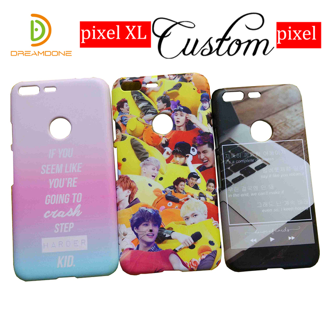 huge discount da191 92adc US $13.0  For HTC U ultra/ pixel 2 3 XL phone case customized 3d hard  plastic cell shell cover personalized full design for HTC u11 life-in  Fitted ...