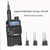 vhf uhf Baofeng DM-5R Portable Digital מכשיר הקשר Ham VHF UHF DMR רדיו תחנת זוגי Dual Band משדר Boafeng אמאדור Woki טוקי (3)