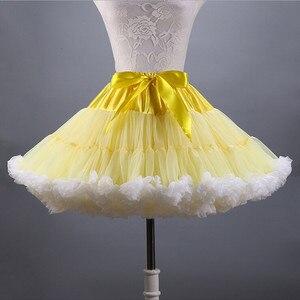 Image 5 - 2020 Ngắn Petticoat Người Phụ Nữ Tây Nam Không Tuyn Mềm Mại Cô Dâu Petticoat Xù Lông Đầu Gối Dài Nhiều Màu Sắc Mới Gây Áo