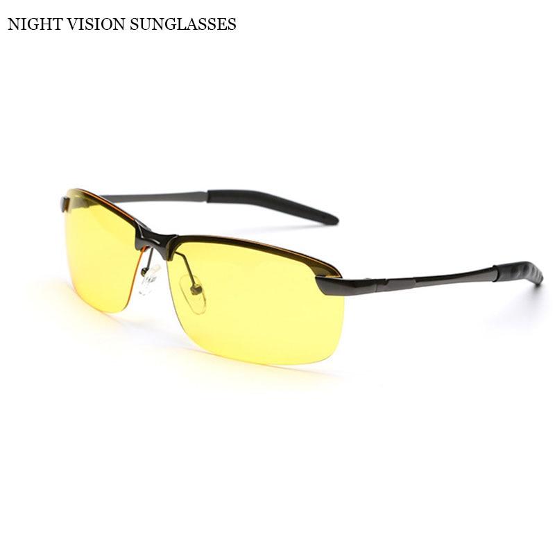 VEGA Polarized Yellow Driving Solglasögon på natten Högkvalitativ - Kläder tillbehör - Foto 2